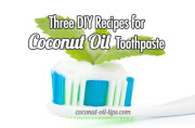 Coconut Oil Toothpaste DIY Recipe