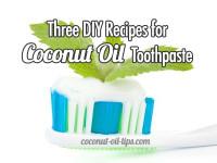 Coconut Oil Toothpaste DIY Recipe